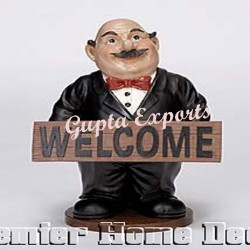 WELCOME MAN STATUE