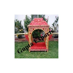 INDIAN WEDDING DECORATED BRIDAL PALAKI / DOLI