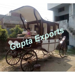 LATEST TOP SEAT WEDDING HORSE CARRIAGE
