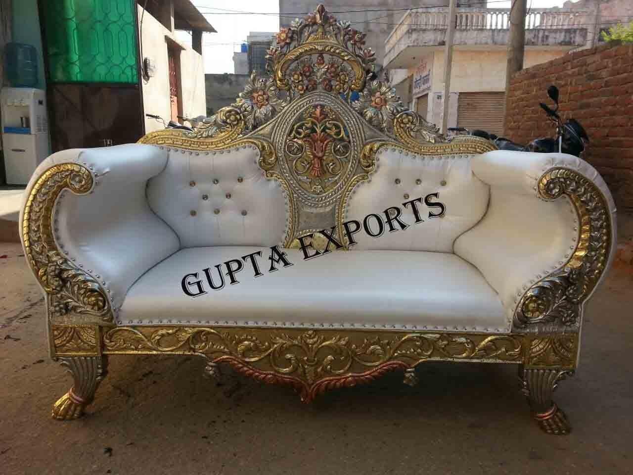Strange Wedding Royal Carving Sofa Manufacture In India Inzonedesignstudio Interior Chair Design Inzonedesignstudiocom