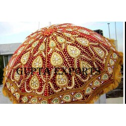 EMBROIDERED WEDDING PARASOL