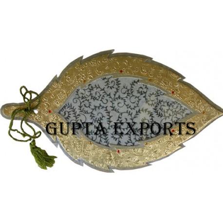 Leaf Shape Wedding Card Manufacture In India