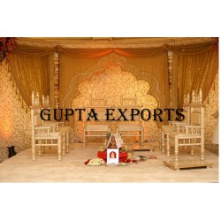 GOLDEN EMBROIDERED BACKDROPS