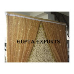 HAND EMBROIDERED BACKDROPS