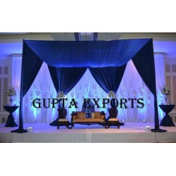 STYLISH ROYAL BLUE BACKDROPS