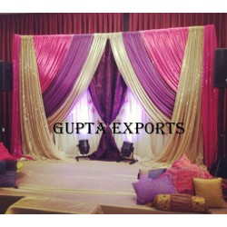 ROYAL LOOK WEDDING BACKDROPS